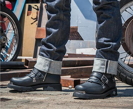 ee9e09f19c9 Casual & Motorcycle Boots & Shoes | Harley-Davidson Footwear