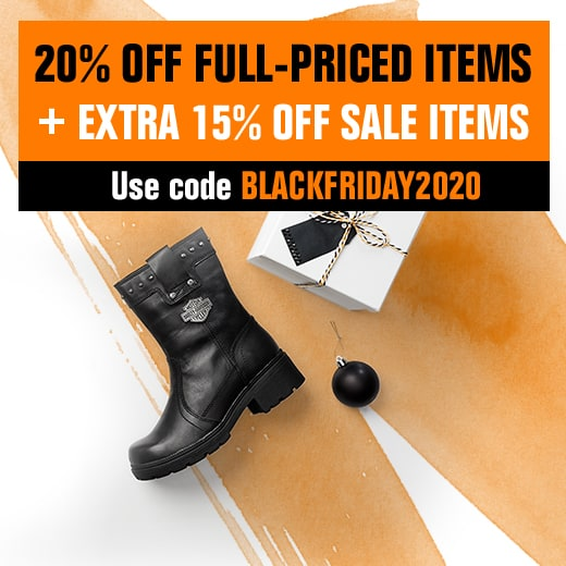 20% off full-priced items plus extra 15% off sale items.