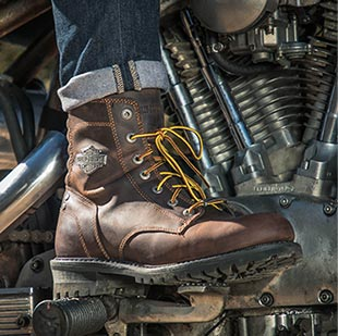 Casual & Motorcycle Boots & Shoes | Harley-Davidson Footwear