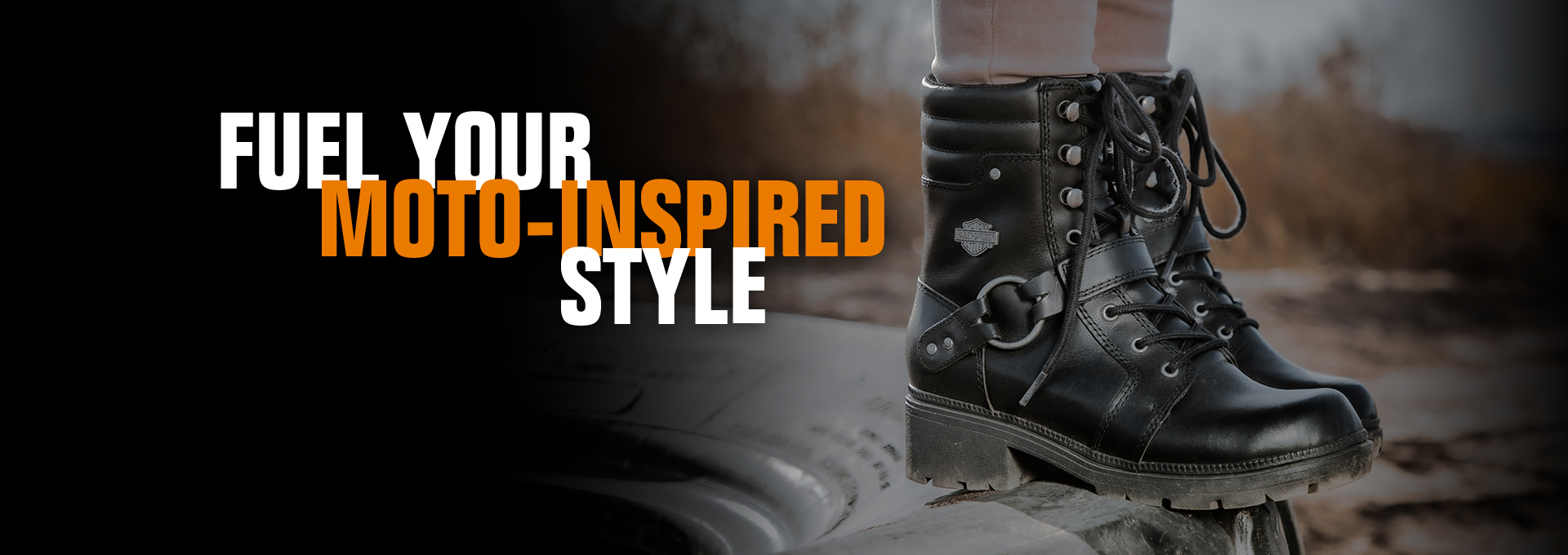 FUEL YOUR MOTO-INSPIRED STYLE