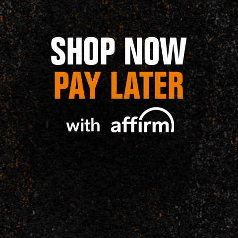 Shop now, pay later, with Affirm.