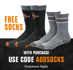 FREE SOCKS with full-priced purchase, Use Code: ADDSOCKS