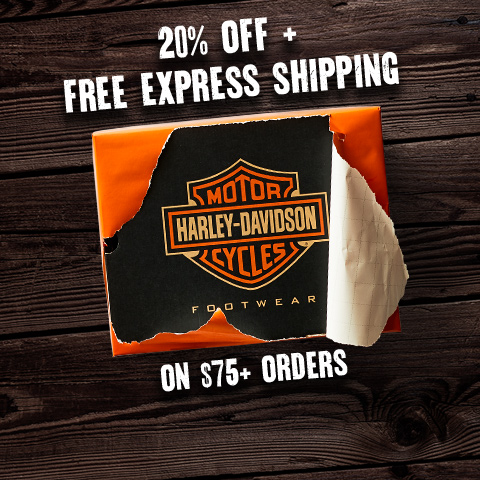 20% off + free express shipping on $75+ orders.