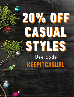 20% OFF CASUAL  STYLES, Use Code: KEEPITCASUAL
